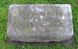 Frances H. Fannie <i>Loder</i> Canady