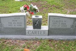 Claudia M Carter