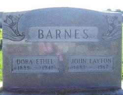 Dora Ethel <i>Cottle</i> Barnes