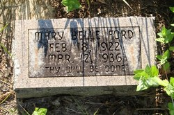 Mary Belle Ford