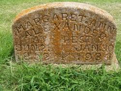 Margaret Ann Alexander