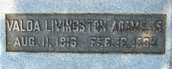 Valda <i>Livingston</i> Adams, Jr