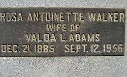 Rosa Antoinette <i>Walker</i> Adams