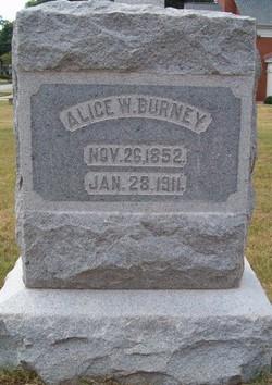 Alice W Burney