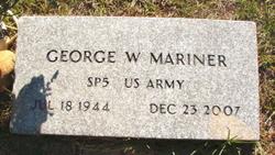 George W Mariner