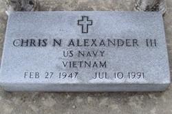 Chris Norris Alexander, III