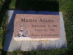 Mary Phoebe Mamie <i>Pierce</i> Adams