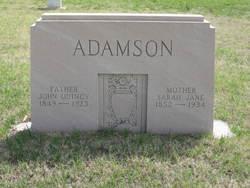 John Quincy Adamson