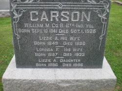 Lizzie A Carson