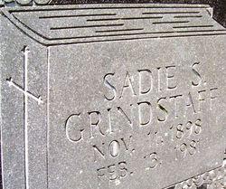 Sadie <i>Sparks</i> Grindstaff