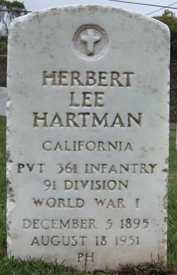 Herbert Lee Hartman