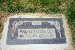 Vernal M. <i>Parker</i> Cox