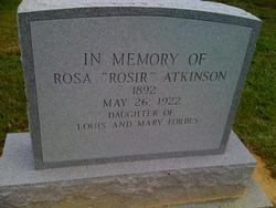 Rosa Rosir <i>Forbes</i> Atkinson