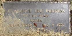 Clarence Leo Fadness