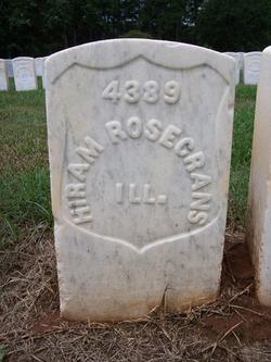 Pvt Hiram Rosecrans