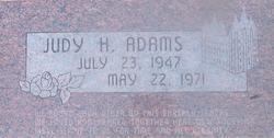 Judy <i>Hunsaker</i> Adams