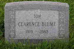 Clarence Heinrich Edward Blume