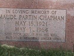 Maude <i>Partin</i> Chapman
