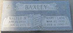 Mary Elizabeth <i>Lane</i> Baxley