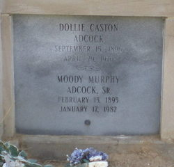 Dollie <i>Caston</i> Adcock