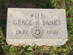 Grace A <i>Moxley</i> Banks