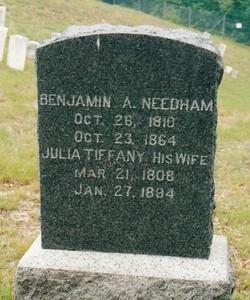 Benjamin Agard Needham