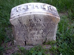 Rev George Bates