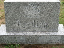 Edith <i>Hooper</i> Burdick