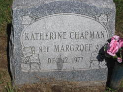 Katherine <i>Margroff</i> Chapman