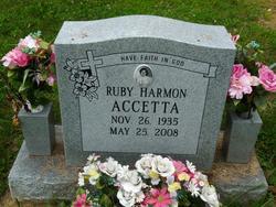 Ruby Jean <i>Harmon</i> Accetta