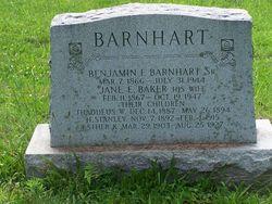 Benjamin Franklin Barnhart, Sr