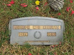 Joseph William Edward Alberts