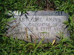 Infant Girl Akins