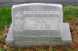 Charlotte Marie <i>Moehle</i> Wilken