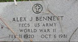Alex J Bennett
