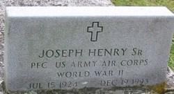 PFC Joseph Henry, Sr