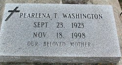 Pearlena T Washington
