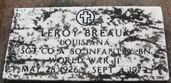 Sgt Leroy Breaux