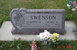 Mary Elizabeth <i>Clark</i> Swenson