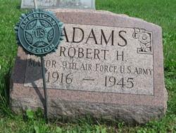 Maj Robert H Adams