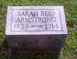 Sarah <i>Reid</i> Armstrong