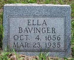 Ellen Etta Ella <i>Spellman</i> Bavinger