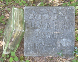 Ruth Ella <i>Mathews</i> Hicks