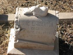 Louis Lamar Martin