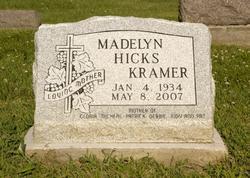 Madelyn Bernice <i>Hicks</i> Kramer
