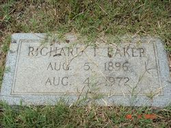 Rev Richard Thomas Baker