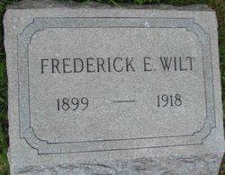Frederick E Wilt