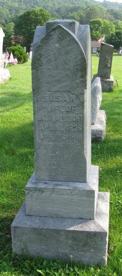 Susan <i>Mathias</i> Albright