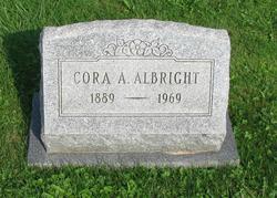 Cora A Albright
