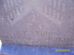 William Fred Stump